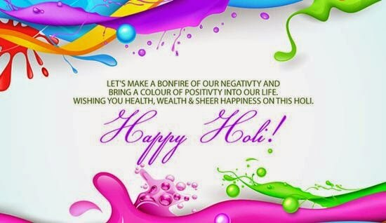 Holi Status Messages SMS With Images