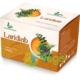Cumpara de aici ceaiul Laridiab indicat in caz de diabet