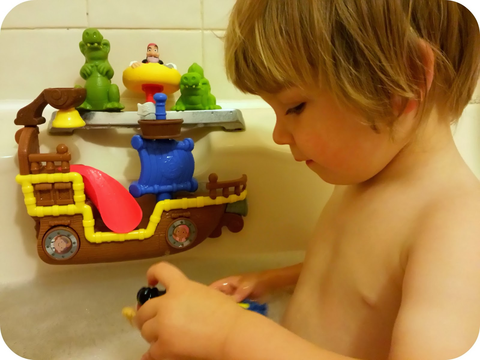 The Adventure of Parenthood: Jake and the Neverland Pirates Toy Review