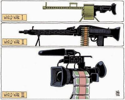 Meme de humor sobre el armamento en las guerras