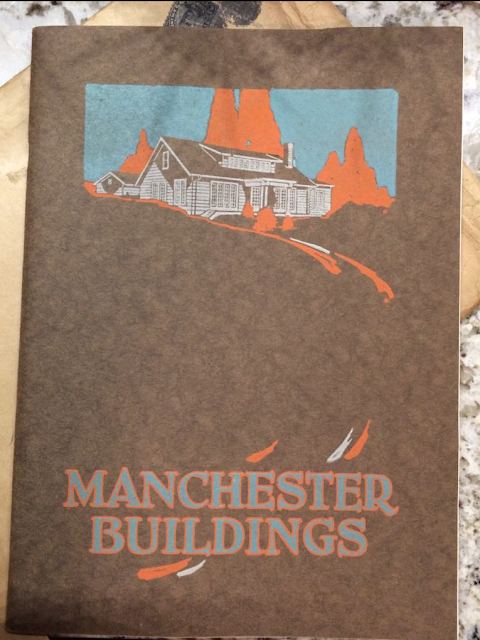 cover of Manchester Buildings catalog 1926 showing Oakdale model