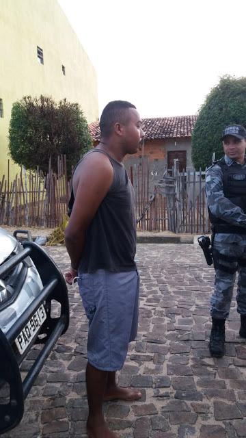 POLÍCIA PRENDE FORAGIDO DA JUSTIÇA DO MARANHÃO NA CIDADE DE PARNAÍBA