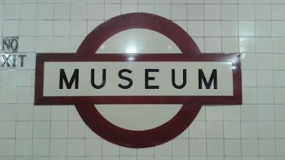 Museum: estación de metro de Sydney