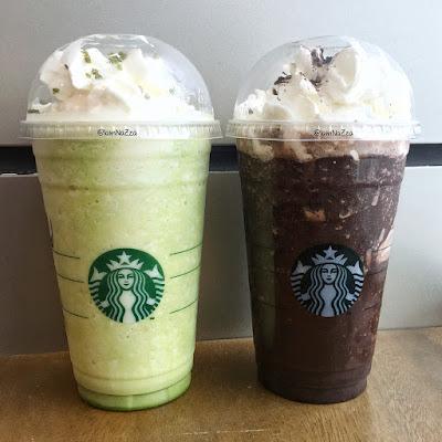 Starbucks - Tea-ramisu & Midnight Mocha