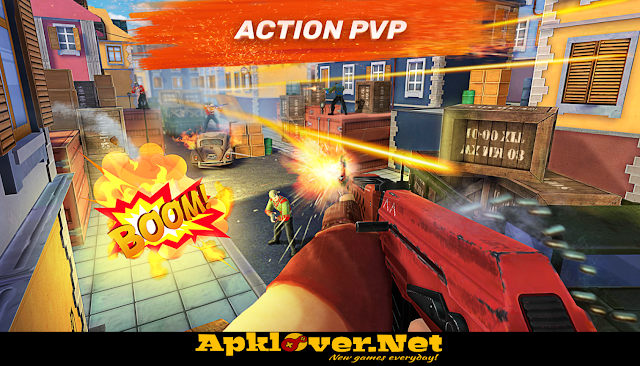 Guns of Boom Online Shooter MOD APK Unlimited Ammo