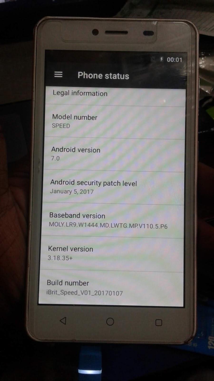 Robin Mobile Stk: iBrit Speed flash file