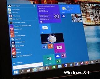 Closing Windows 8.1