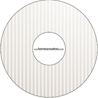 Gold and Grey Free Printable CD Labels.