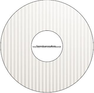 Etiquetas de Dorado y Gris para CD's.