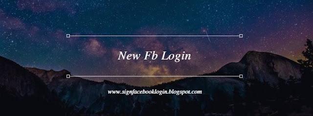 New Fb Login