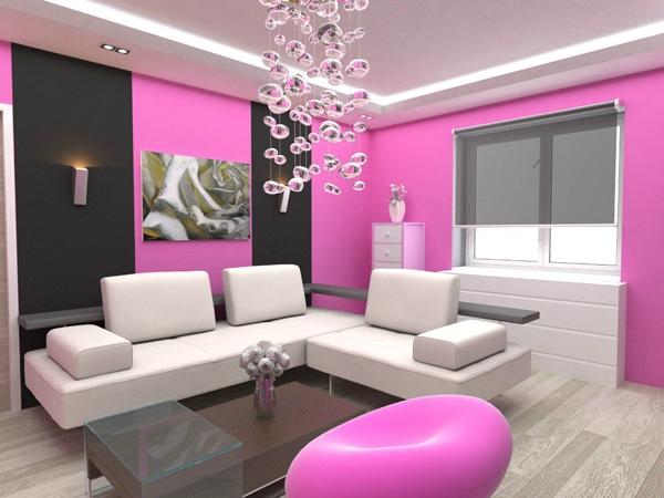 Inspirations Pink Room Desain Ruang Tamu Cantik