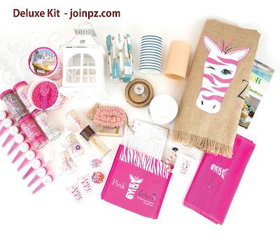 Pink Zebra Deluxe Enrollment kit