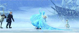 Putri Anna sudah pergi dari istana putri Elsa
