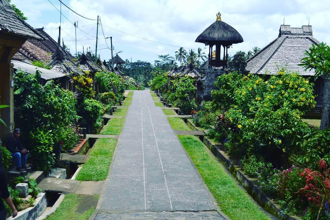 Desa Panglipuran Desa Wisata Terbersih Di Bali