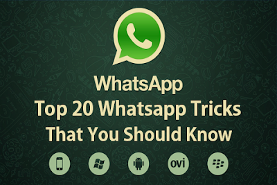 Whatsapp trick and tips