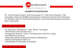 Lowongan Kerja Staff Keuangan dan Staff Akuntansi PT Adhi Karya (Persero)