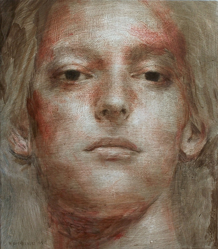 Michal Lukasiewicz 1974 | Polish Realistic Figurative painter