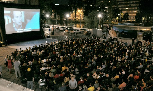 Flagey open air screenings