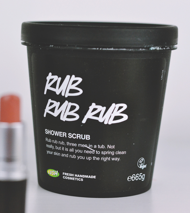 Lush Rub Rub Rub Shower Scrub Review