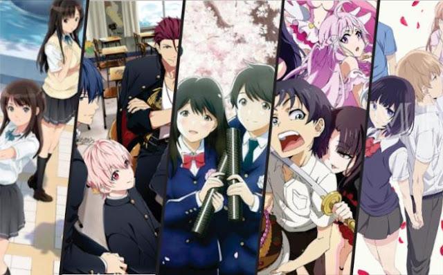Anime Romance School 2017 Terbaik