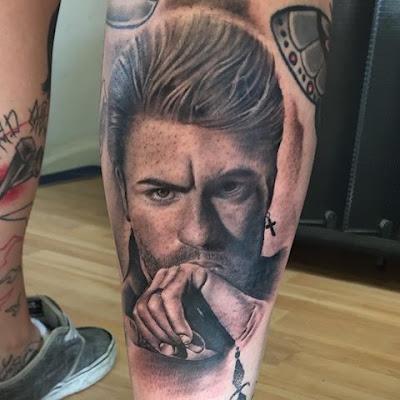 Tatuaje de George Michael