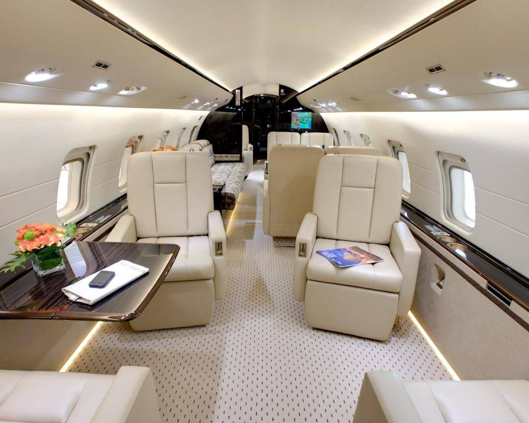 Luxurious And Opulent Private Jets