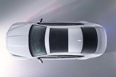 2016 Jaguar XF Top view image