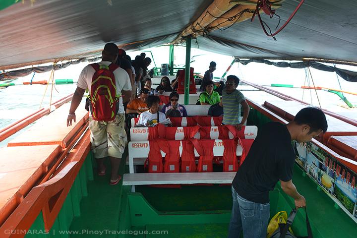 Passenger boats in Ortiz Warf