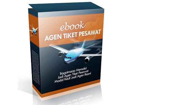e-Book Menjadi Agen Tiket Pesawat