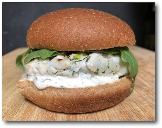 Halibut Burgers Recipe