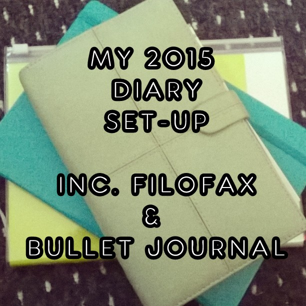 How I Will Use My Filofax And Bullet Journal In 2015