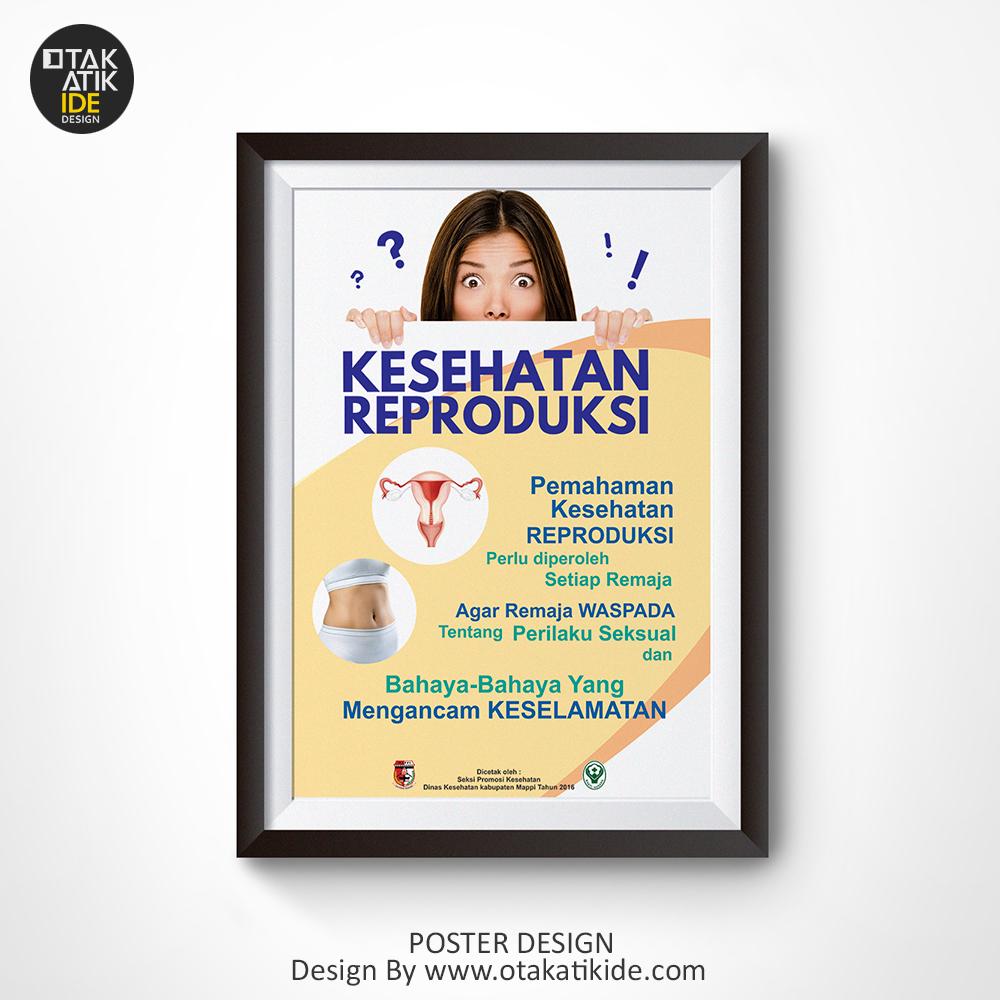 Poster Kesehatan Reproduksi Remaja Hidup Sehat