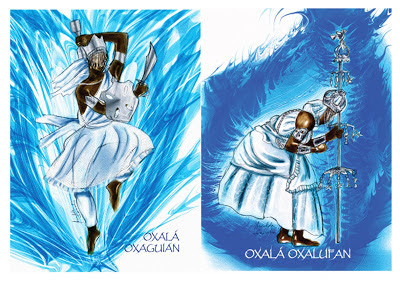 reza - saudação - yoruba - tradução - portugues - Oxala - Oxaguian ou Oxalufa