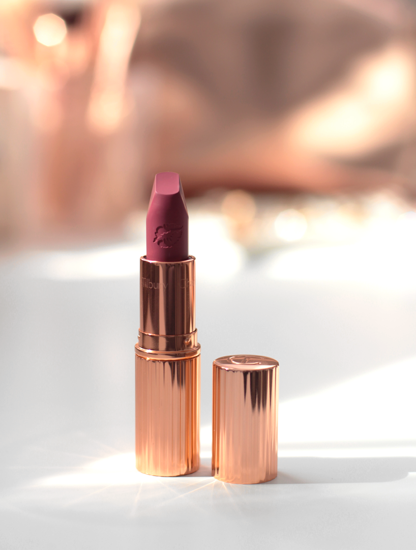 Charlotte Tilbury Hot Lips Lipstick Secret Salma blog review swatches