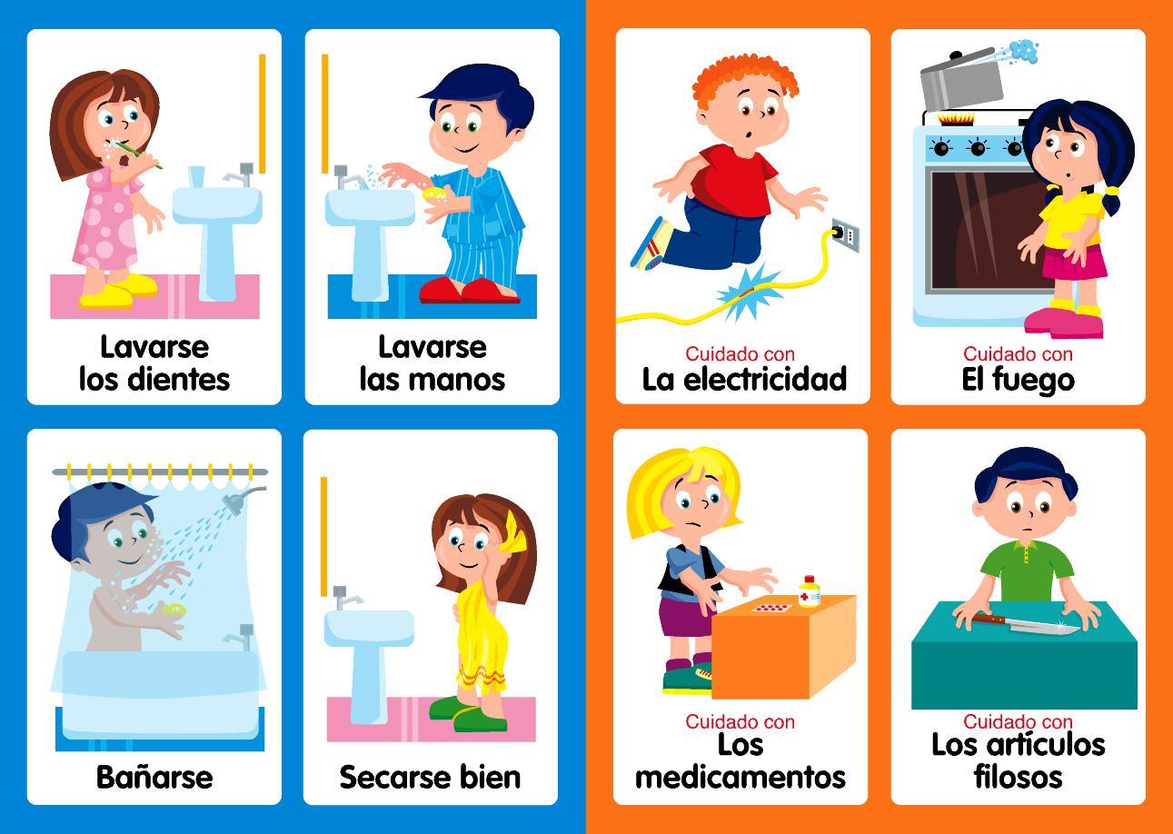 Hábitos de higiene - lino