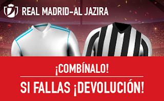 sportium promocion Mundialito Real Madrid vs Al Jazira 13 diciembre
