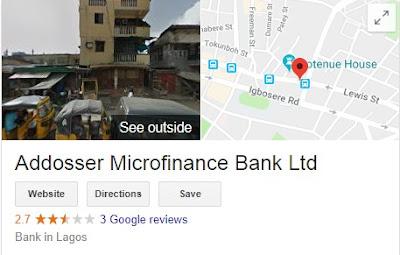 Addosser Microfinance Bank Recruitment Login 2018/2019 |  Registration Form Online Here