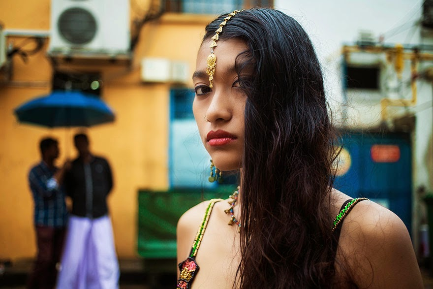 Little India, Singapore - I Photographed Women From 37 Countries To Show That Beauty Is Everywhere