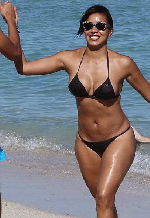 5d34dbe95e Retro Bikini: Gerald Maxwell Rivera gets cozy up to a bikini lady ...