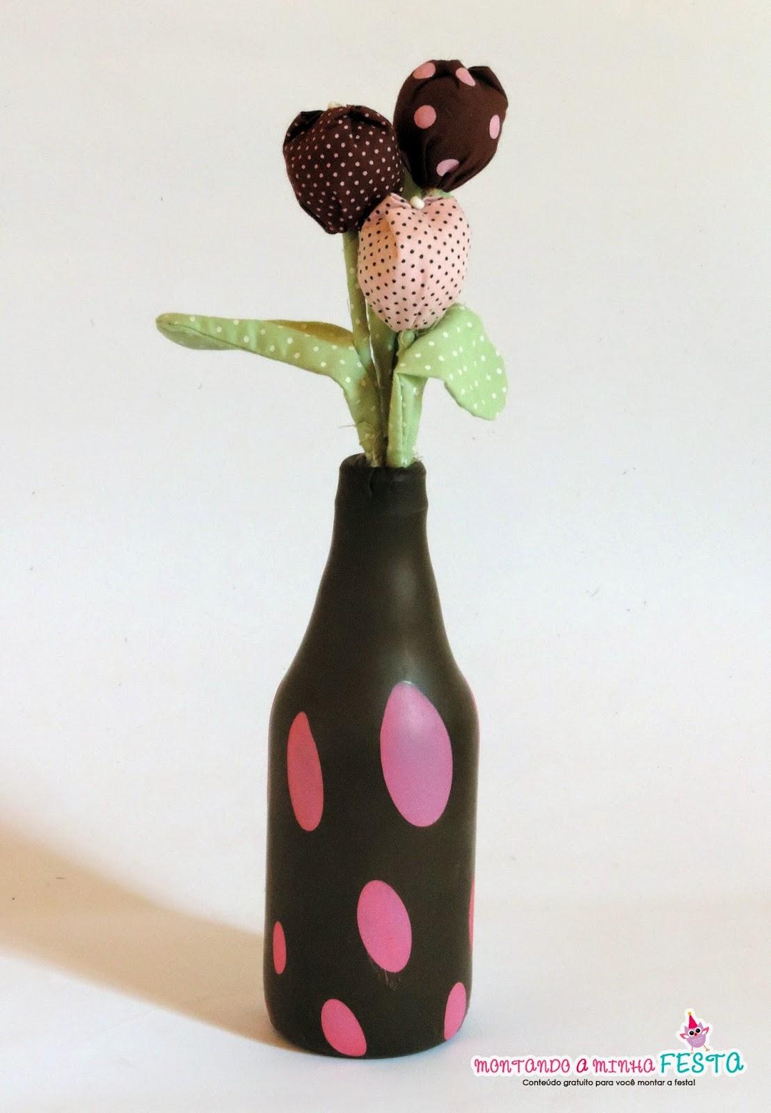 Excepcional Garrafa decorada com balão passo a passo + ideias | Montando minha  HB57