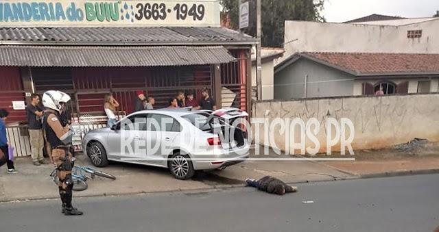 Homem é morto com rajada de metralhadora em Colombo