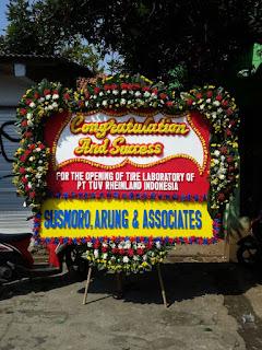 Karangan Bunga Papan Congratulations Di Cilandak