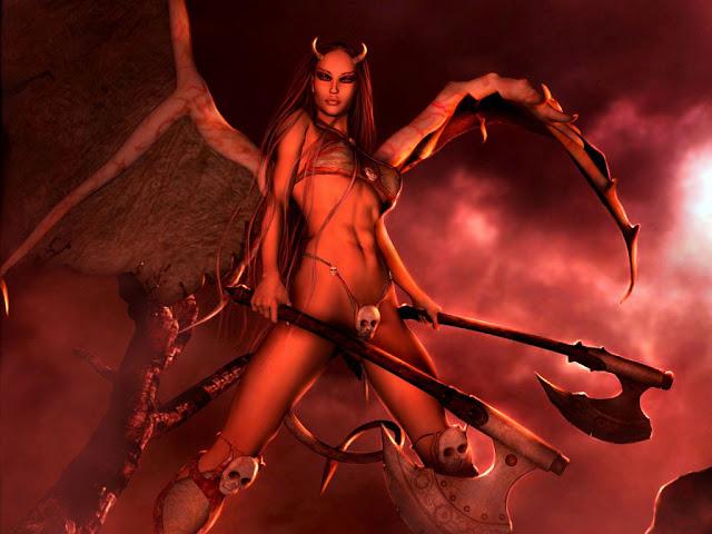 Kiumba feminino, catimbó, obsessor, umbral, kimbanda, magia negra