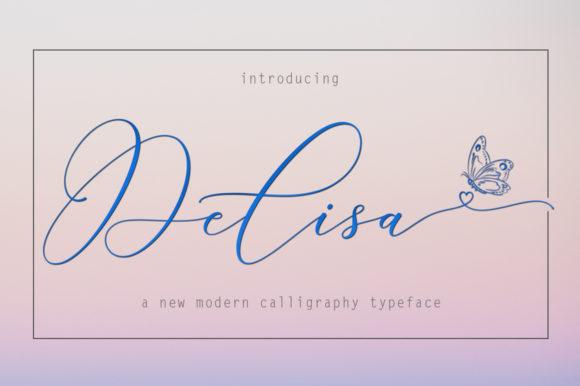 The Delisa Script Font