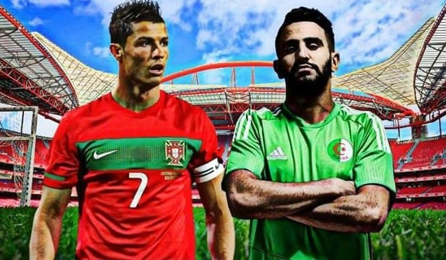 نتيجة مباراة البرتغال والجزائر