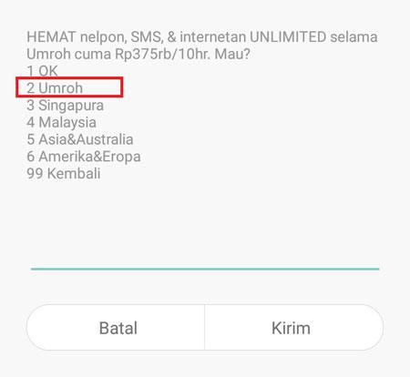Paket Umroh Indosat Tarif Internet, Roaming & Cara Aktifasi