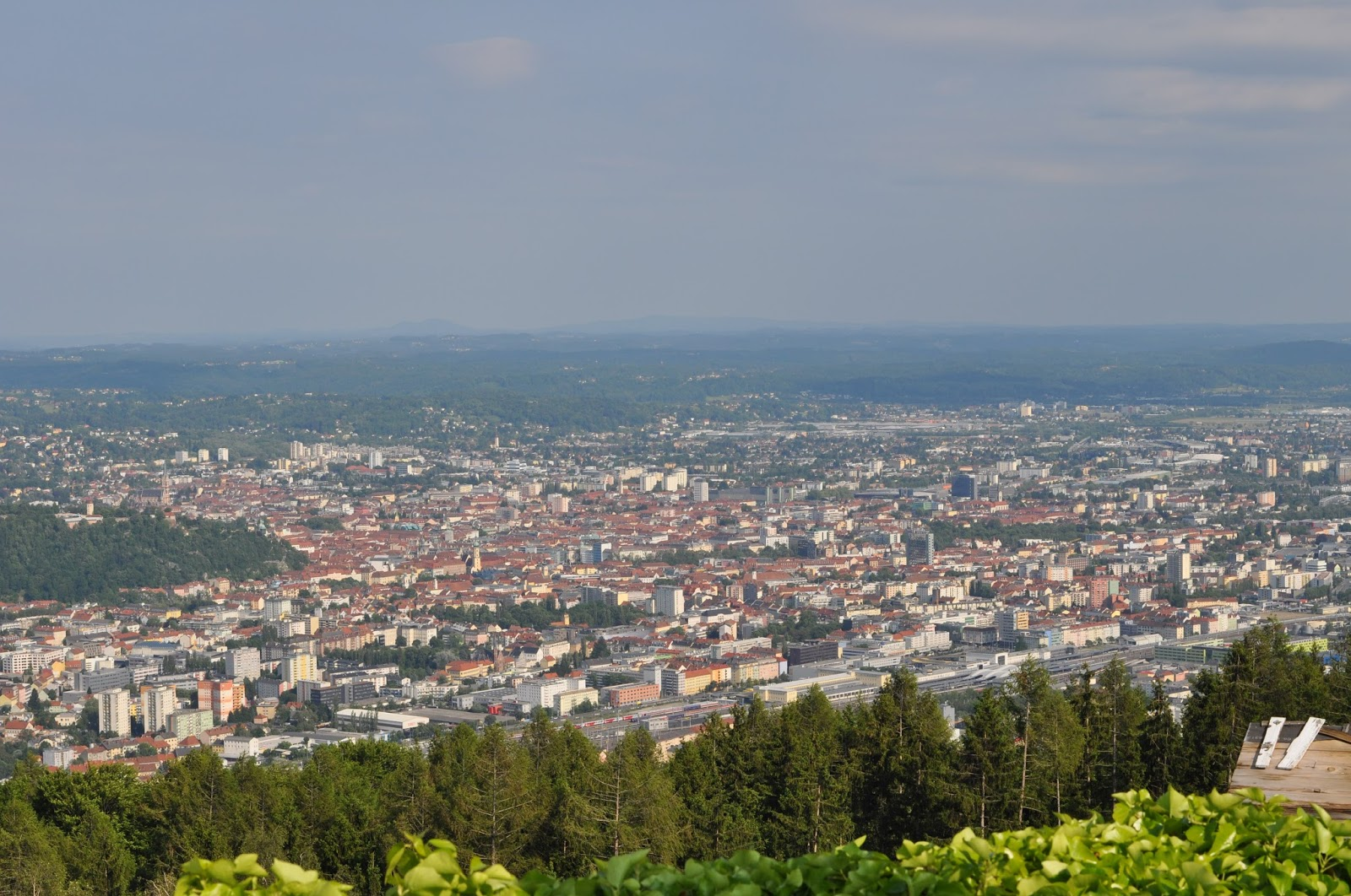 A mandatory sightseeing spot in Graz - Plabutsch mountain
