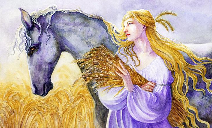 Nimrael, mitoloji, din ve mitoloji, Epona, Tanrıça Epona, At ve bereket Tanrıçası, Kelt mitolojisi, Galya tanrıçası Epona, Antik druidler, Roma orduları ve Epona, Keltlerin Tanrıçaları, Galyalılar