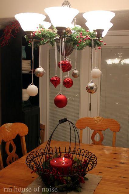 Decoracion DIY Navidad: Bolas colores luces
