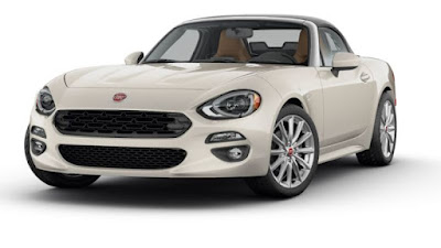 FIAT 124 Spider Sunshine White